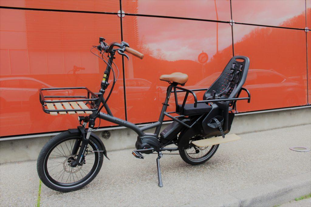 garantie vie qualité cadre kiffy capsule cargo vélo