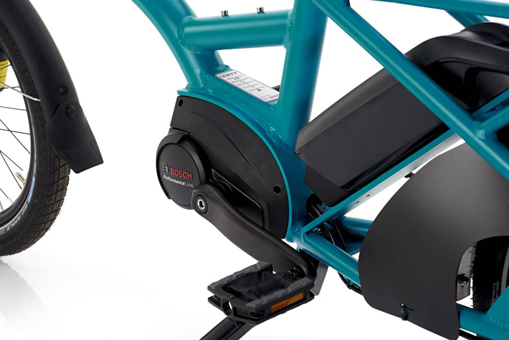 A comfortable and handy cargo bike 1 Kiffy Capsule Blue Bosch 2 LR
