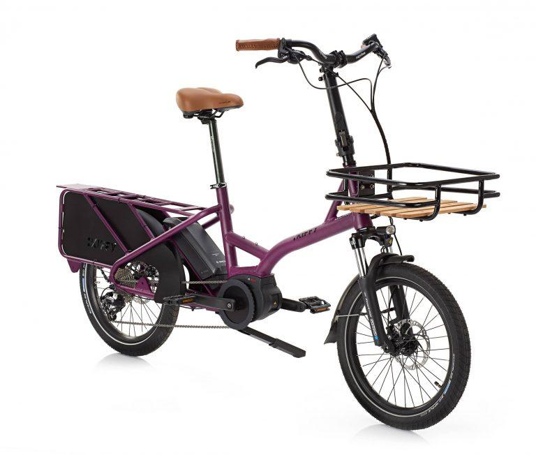 capsule kiffy famille vélo moteur bosch cargo longtail violet