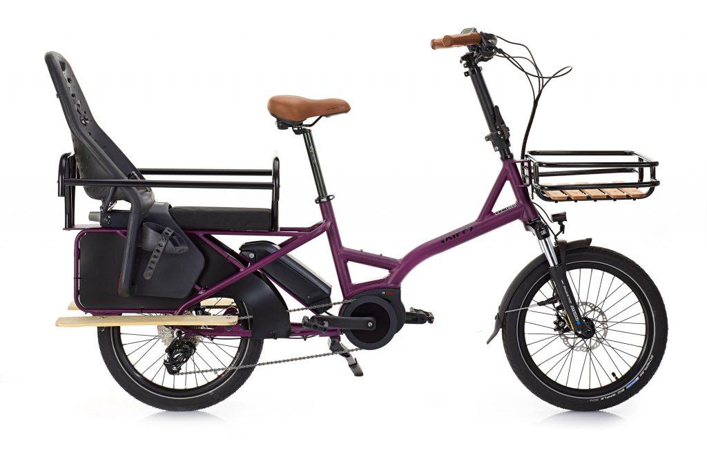 Utiliser un siège vélo enfant sur votre cargo KIFFY: L'essentiel pour transporter les petits en sécurité. 1 Kiffy Capsule Purpple side1 seat LR