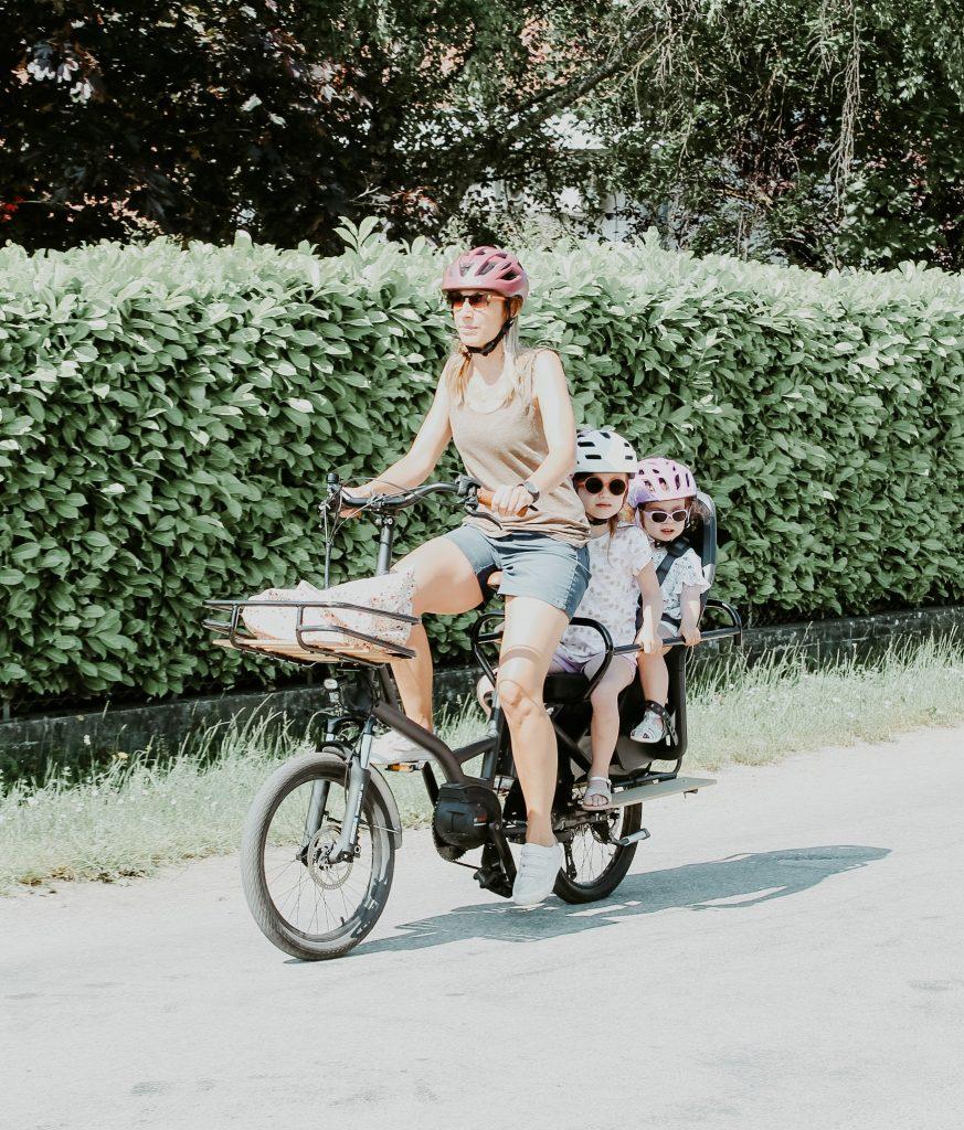 confort maniable kiffy capsule stable enfant transport famille cargo