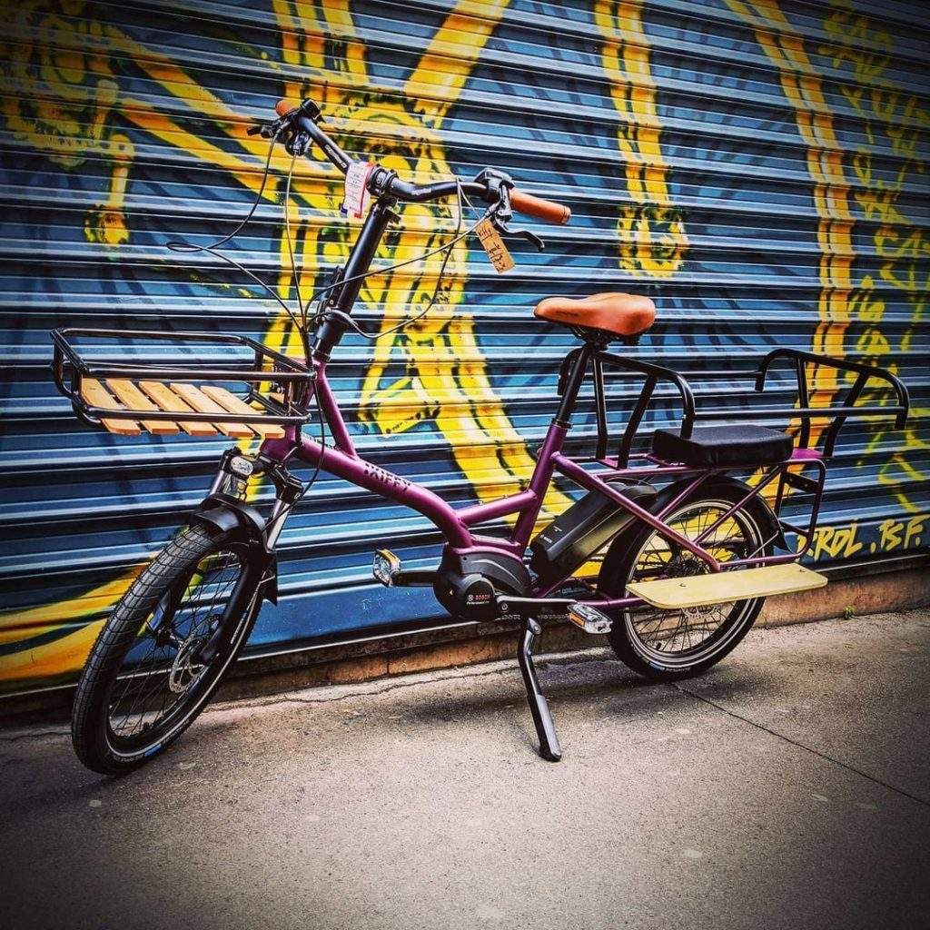 vélo cargo électrique famille