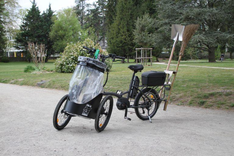 vélo cargo professionnel électrique
